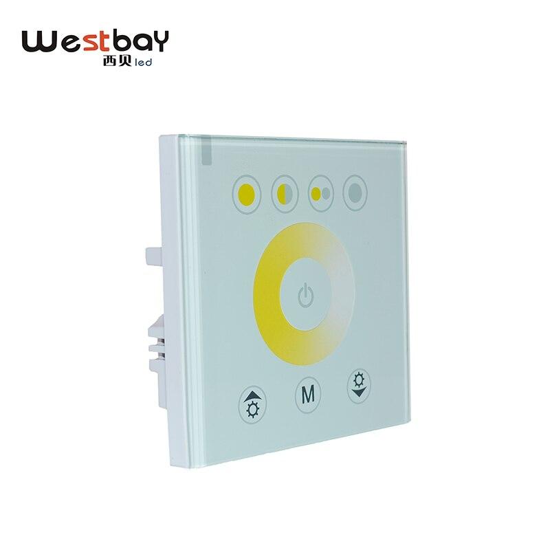 Gratis frakt led färg beröring controller, enkel färg styrenhet, led färg justering, beröring switch dimmer för hem belysning