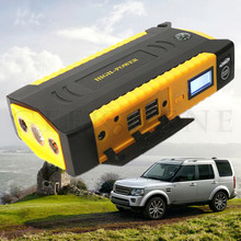 Starting Device 12V Petrol & Diesel Car starter 4 USB waterproof Harden Shell Multi-function Booster Safe Escape Hammer With Kit