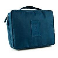 Purplish Blue Outdoor Travel First Aid Kit Bag Home Small Medical Box Emergency Survival Kit Treatment
