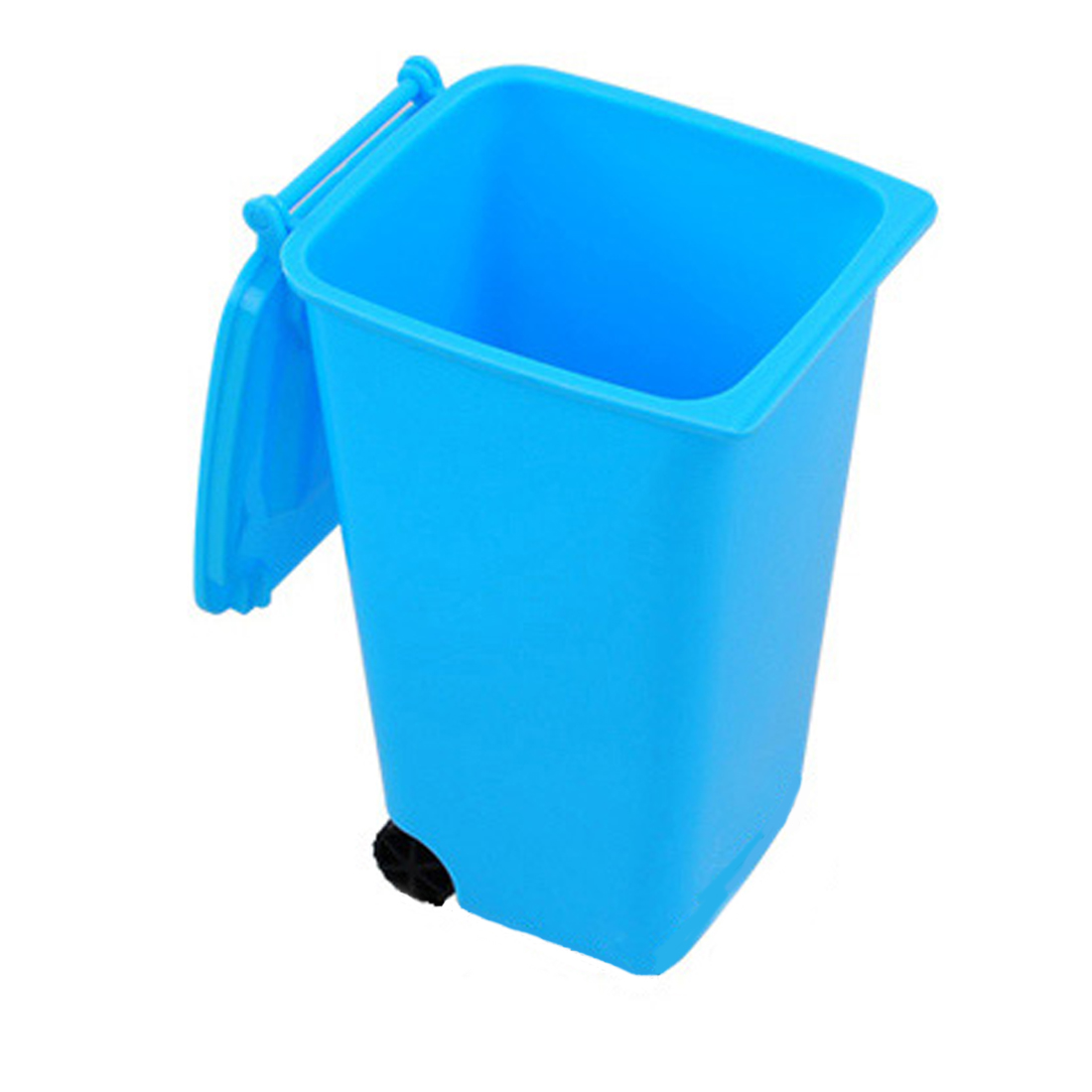 top sale garbage bucket colorful trash can and high quality recycling mini storage bin pen holder