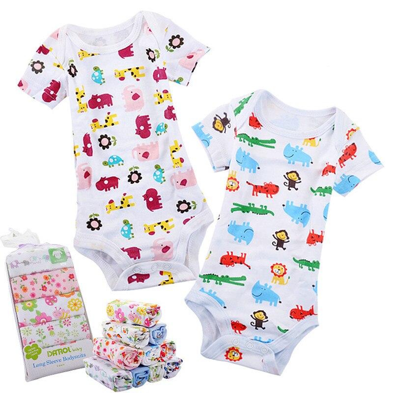 צבעוני בייבי בובות 0M-12M Shortleeve בוי ילדה - ביגוד לתינוקות