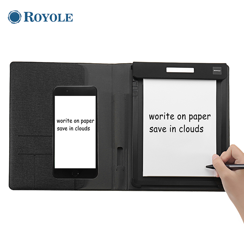 Royole 10 pouces 2048 niveau pression numérique dessin tablette papier écrire Cloud stockage App affichage synchrone avec stylo de sensibilité