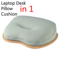 Notebook/Laptop Stand Bed, Table Desk for Pad/Phone, Office Nap Pillow, Protable Bloster Picnic/Camping Table Car Seat Cushion