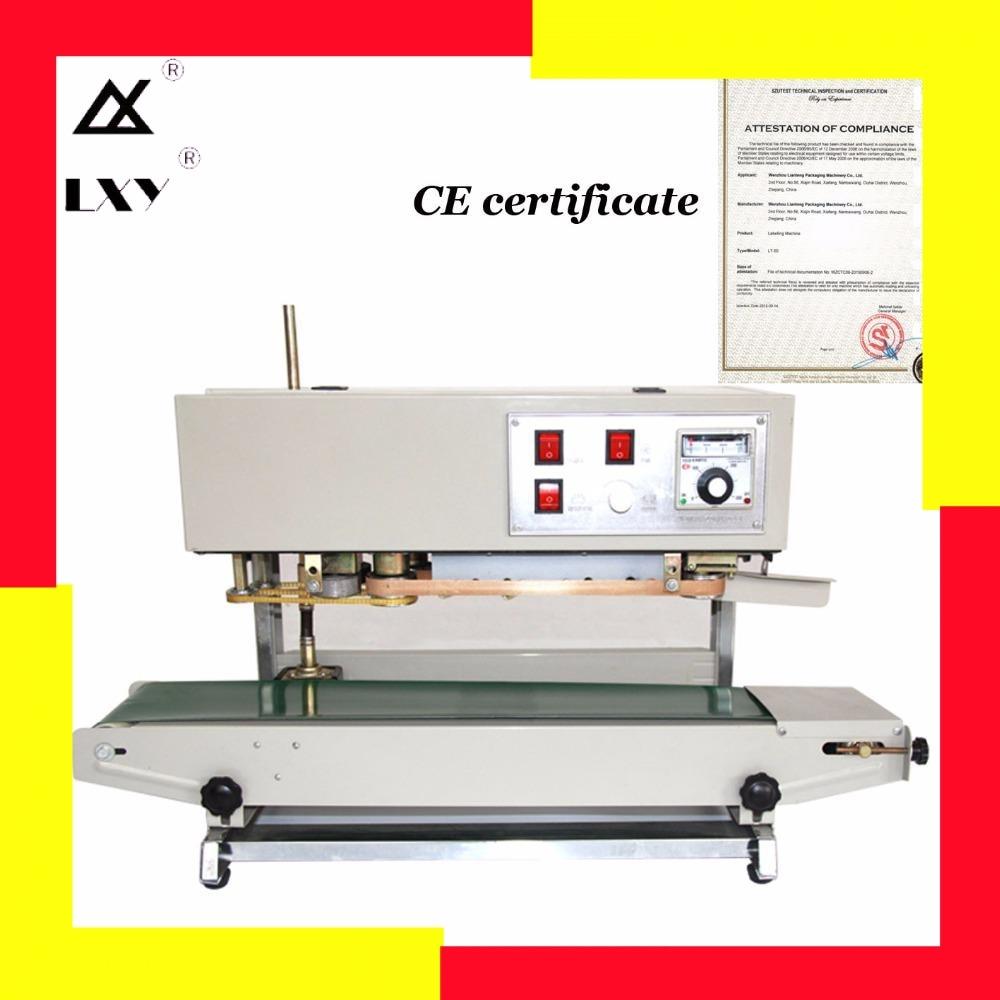 Automatic Film Impulse Sealer, Heat Plastic Bag Auto Sealing Machine, Vertical Shrink Packing Free Shipping