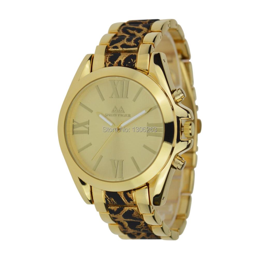2016 Nowa znana marka złota Casual Genewa Zegarek kwarcowy kobiety - Męskie zegarki - Zdjęcie 3