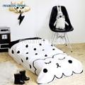 130 * 90 cm Ins moda de nueva Newborn Baby edredón anticongelante manta infantiles del niño niños niñas cosas de bebé juego de cama libera el envío