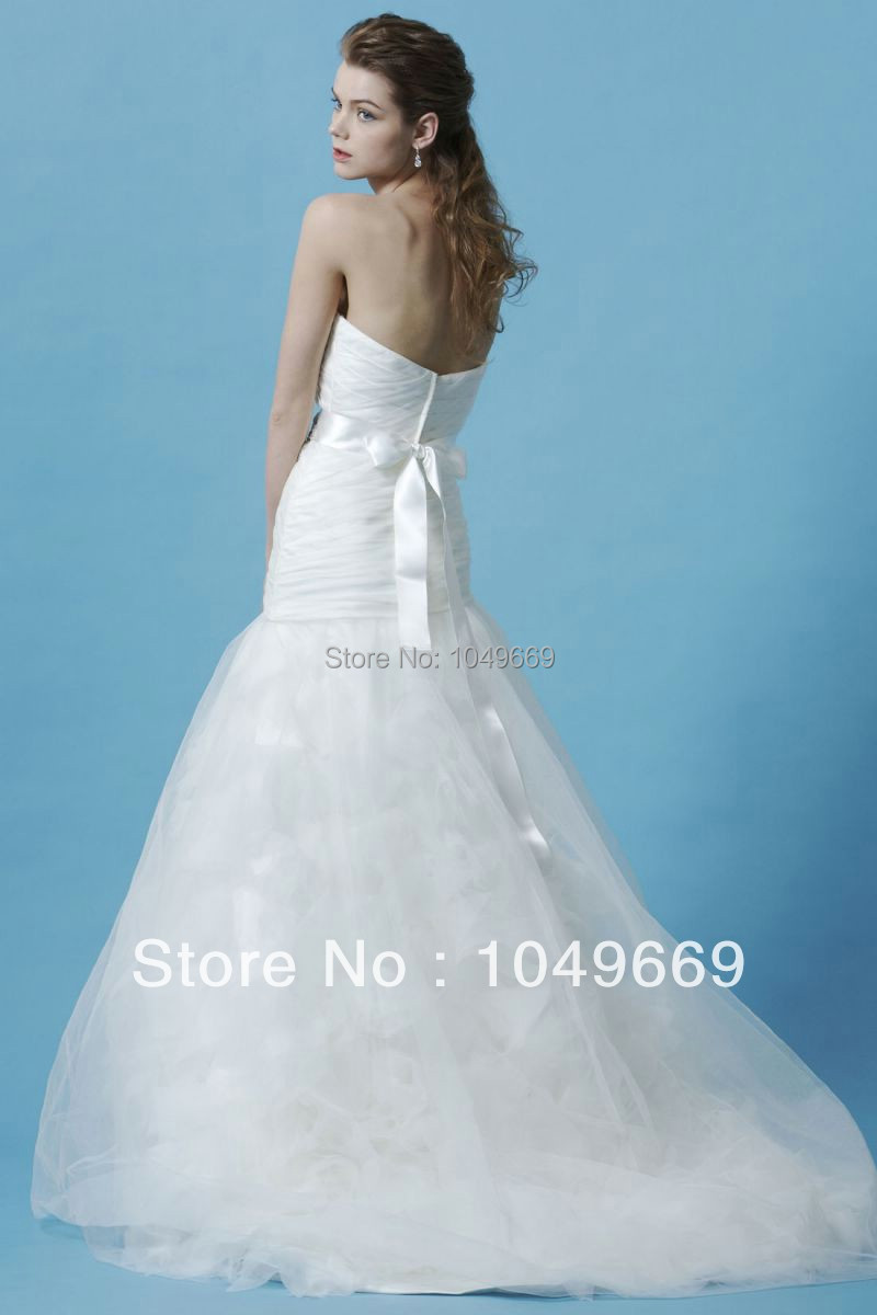 Envío gratis Eden negros vestidos delgado satinado vestido de novia ...