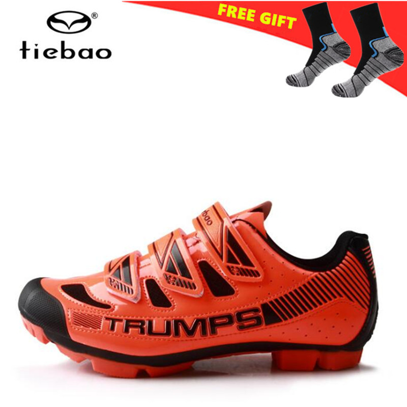 Tiebao Cycling Shoes 2018 MTB Mountain Bike Shoes Self-locking Breathable Boots zapatillas deportivas hombre Bicycle Shoes men tiebao mtb cycling shoes 2018 for men women outdoor sports shoes breathable mesh mountain bike shoes zapatillas deportivas mujer