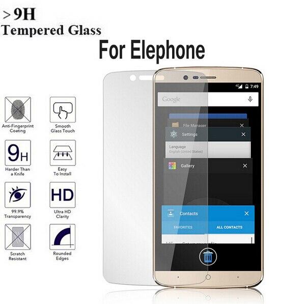 2.5D Премиум Настоящее 0,3 мм 9 H закаленное Стекло для Elephone P8000 P9000 Lite M2 M3 P8 мини S7 Экран протектор фильм чехол + Cleaning Kit