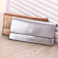High quality new arrive Genuine leather  long women bag, Korean style envelope desine  clutch bag,Wallets women,Purse