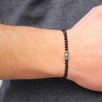 Lucky Handmade Stone Beads Bracelets5