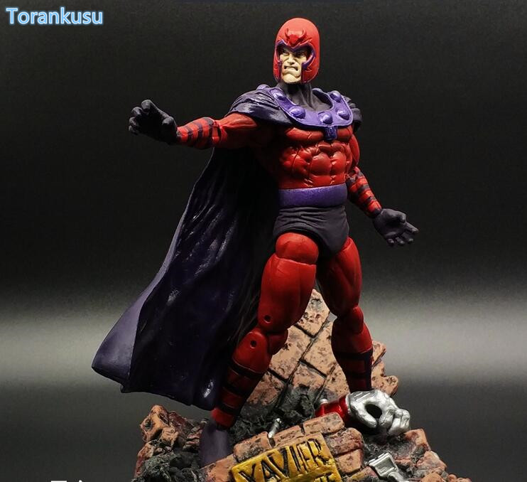 X-Men Action Figure Magneto Midlife Max Eisenhardt PVC Figure Toys 180mm Superhero X MEN X-MEN Magneto Collectible Model Doll action toys x man apocalypse movie action figure magneto x men en sabah nur collectible movable birthday gift 16cm
