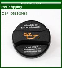 Бесплатная Доставка Новый Масло Заливной Горловины С Прокладкой Для VW AUDI OE #: 06B103485