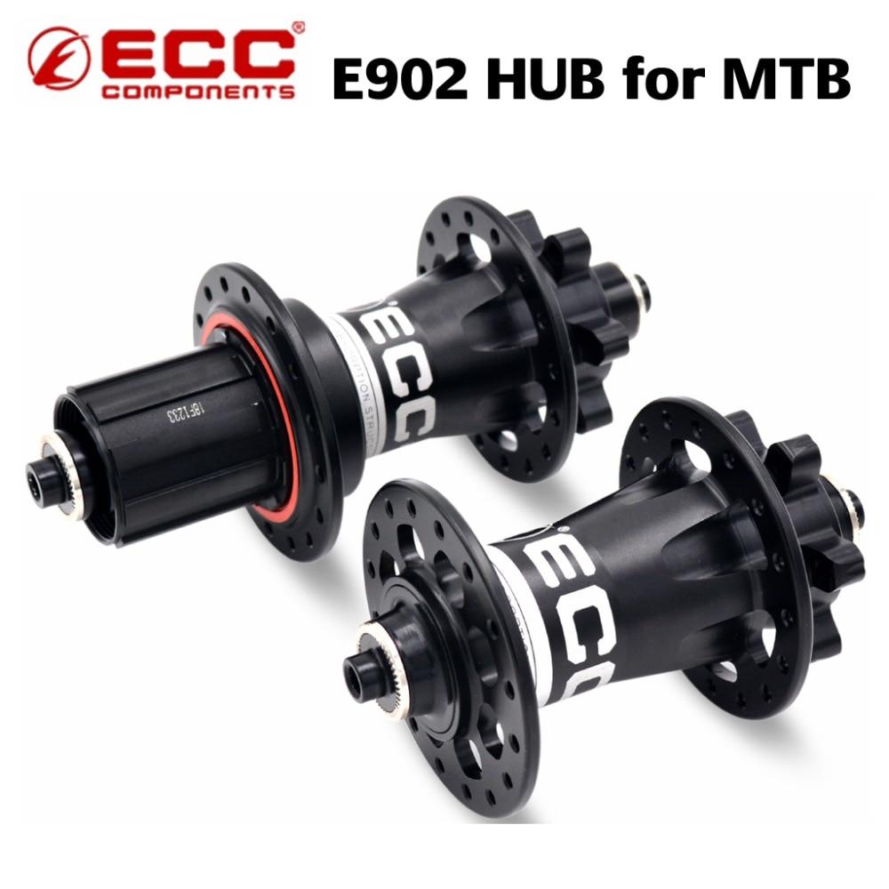 ZRACE E902 roulement scellé vtt VTT moyeux 32 trous frein à disque 15 12 142mm à travers l'axe QR moyeu de vélo novatec