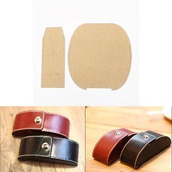 1 stück Leder Handwerk Frauen Brieftasche Handtasche Nähen Muster ...