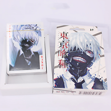 1 pack Creative Anime Grim Reaper & Death Notes & Natsume & Tokyo Ghoul Action & Toys figures Collection Poker Game Cards Toy