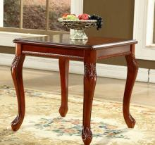 European style solid wood coffee table square corner retro side table modern American side coffee table small tables