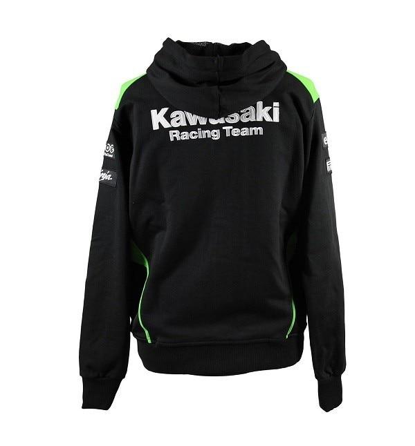 Free shipping 2018 2016 Hot Sale KAWASAKI team Por Fuera Hooded Sweat Moto Gp Men Casual Sweatshirts Cotton-in Jackets from Automobiles & Motorcycles    2