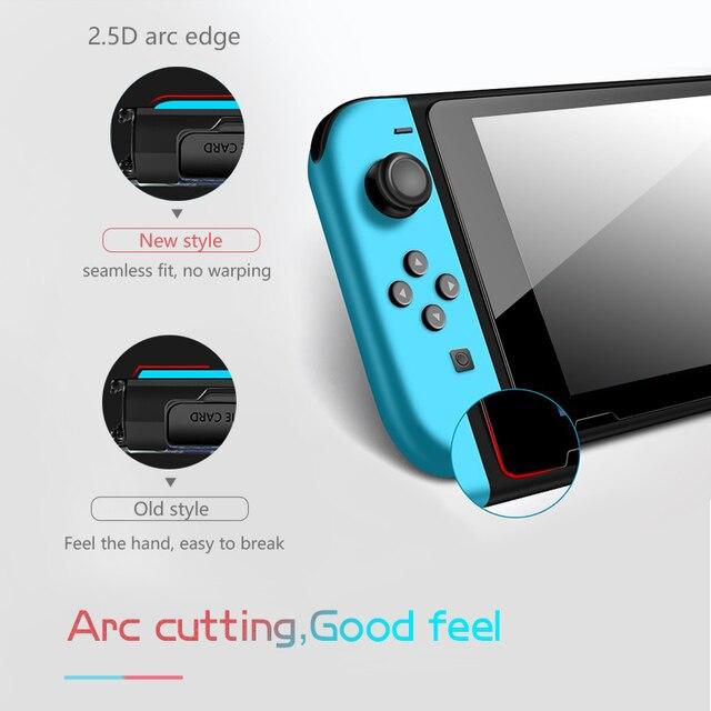 Data Frog Premium Tempered Glass Screen Protector For Nintendo Switch NS Screen Protector For Nintendo Switch Lite Accessories 2