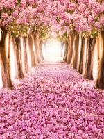 5x7ft Photo Studio Computer Printed Photography Background Backdrops BG20 Vinyl Pink Flowers Wedding Backdrops For Photography