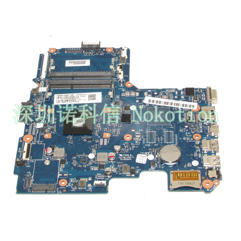 NOKOTION 858042-001 Laptop motherboard For hp 14-an010la 14-an AM7210ITJ44JB A4-7210 CPU 6050A2822801-MB-A01 Mainboard Full test original laptop motherboard for hp cq57 653985 001 15 6 laptop mainboard 100% full test