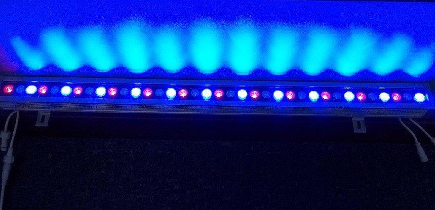 36*1 Вт DMX512 светодиод высокой Мощность Шайба стены; можно установить DMX адрес вручную