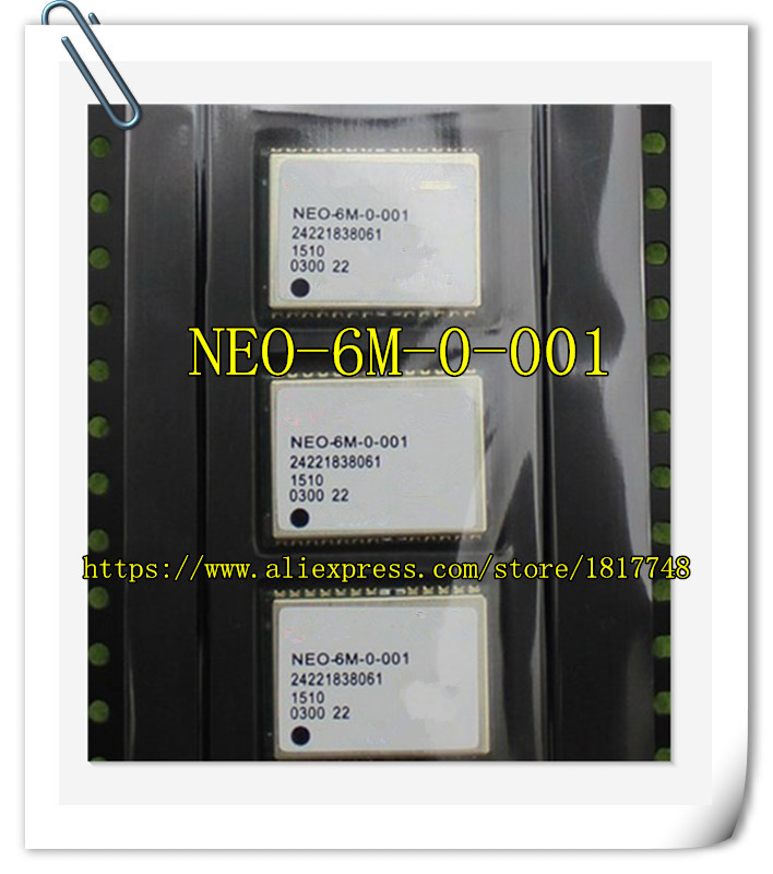 2PCS/LOT GYGPS6MV2 GPS Positioning Module NEO-6M U-blox 6 NEO-6M-0-001 Chip Module module gps module neo 6m u blox development board kit straight vertical pin header uart gps neo 6m b