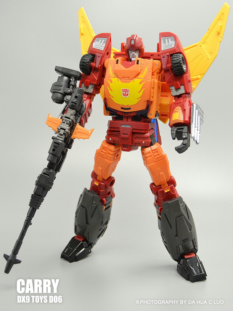(IN STOCK) TOY TF DX9 D06 Carry Hot Rod Rodimus Prime hot in stock s29gl512n10tfi02
