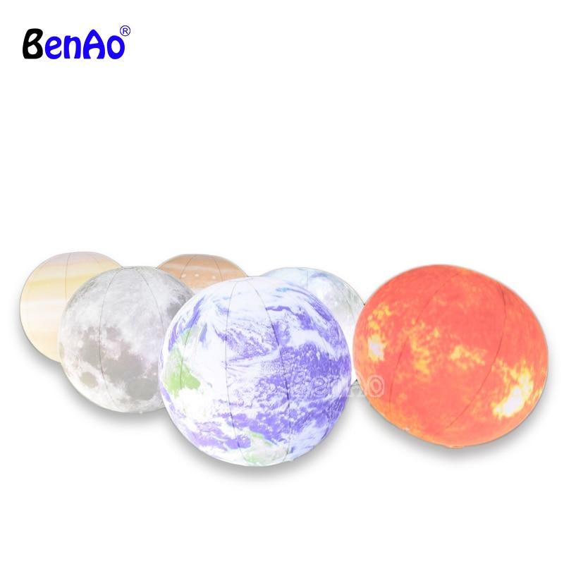 Full set of inflatable planet balloons , earth , moon , jupiter , Saturn , Uranus , Neptune , Mercury , Venus , Mars mars pattern warhound titans full set f006