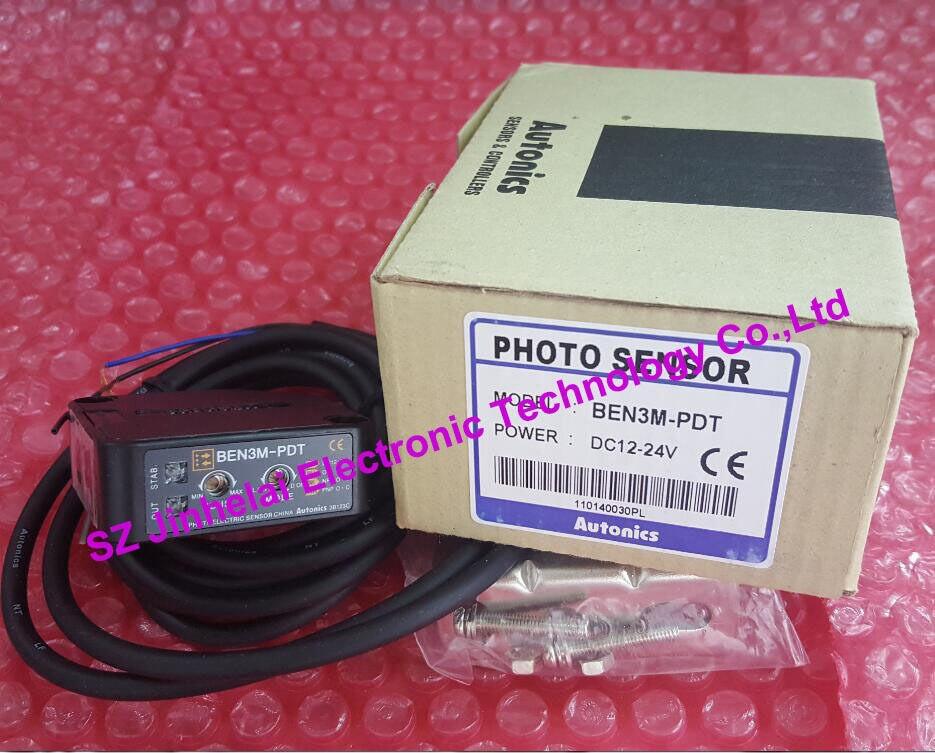 Capteur PHOTO AUTONICS neuf et original de BEN3M-PDT 12-24VDCCapteur PHOTO AUTONICS neuf et original de BEN3M-PDT 12-24VDC
