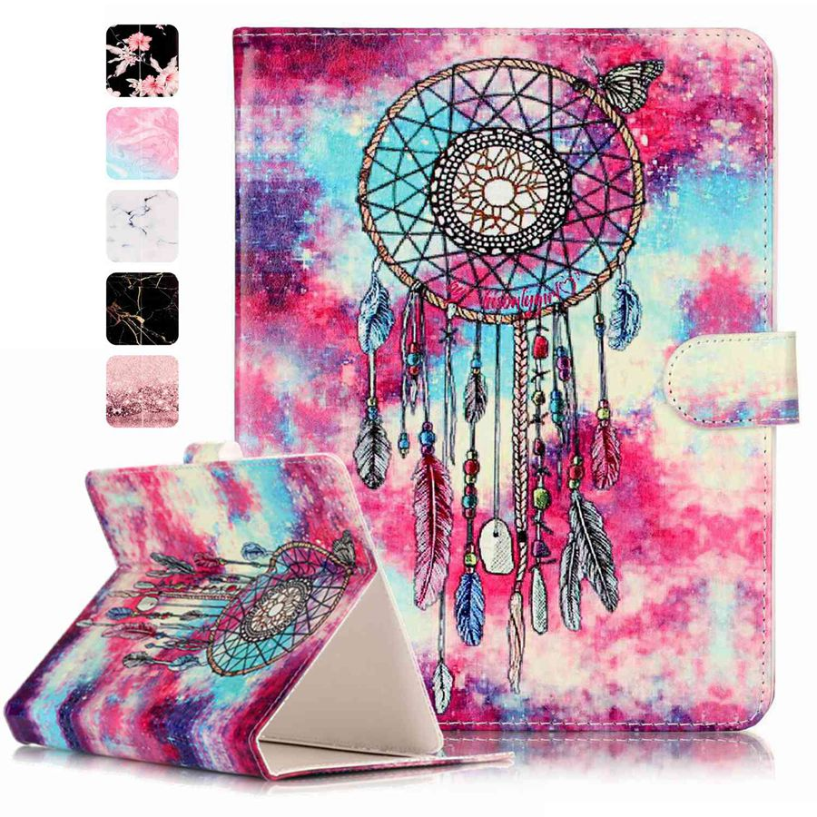 Misolocat for 10 inch Tablet Universal Case Stand Flip Cover Funda PU Leather Magnet Capa Coque Marble Pattern universal 7 inch tablet case new design 7inch universal luxury pu leather tablet pc flip stand case cover for mid andriod tablet