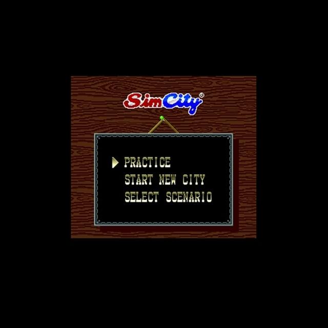 Sim City 16 bit wielki szary gra karciana dla odtwarzacza gier NTSC Drop Shipping