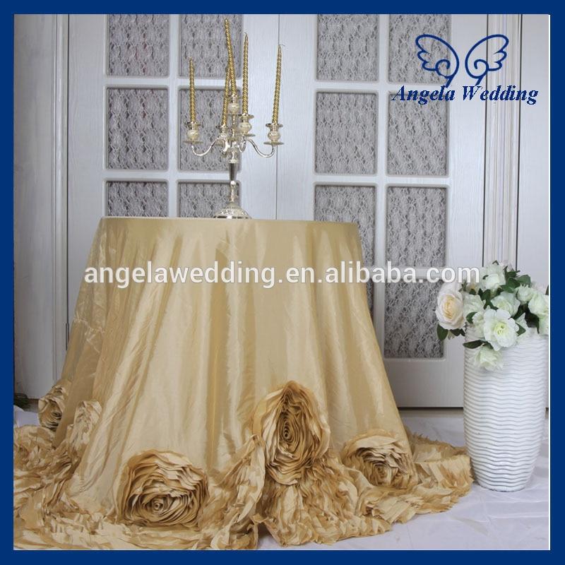 Cl052c 2015 새로운 멋진 결혼식 108 ''라운드 샴페인 케이크 테이블 천으로 로즈-에서식탁보부터 홈 & 가든 의  그룹 1