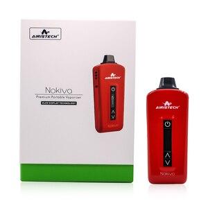 Image 3 - Original Airistech Herbva Nokiva Dry Herb Vaporizer Kit 2200mAh Battery Ceramic Chamber Heating Herbal Vape Pen Vaporizer