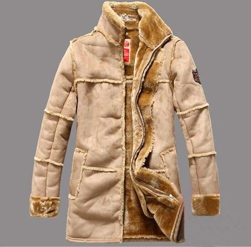 Leather Winter Jacket 2014 Men Warm Men S Clothing Jaqueta