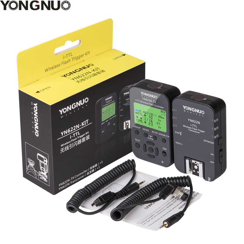 YONGNUO YN622N II YN622N TX YN622N KIT i TLL Wireless Flash Trigger Transceiver for Nikon Camera
