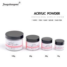 fengshangmei Clear Crystal Nail Sculpture Powder White Builder Powder Liquid For Nail Pink Nail Acrylic Powder
