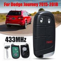 3/4/5 Button 433MHz Smart Remote Car Key for Chrysler for Dodge Charger Journey Challenger Durango M3N 40821302 No Mark