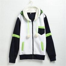 Asesinato Hoodies Anime Unisex Noiz Cosplay Bereber de lana Chaqueta de Abrigo de Invierno
