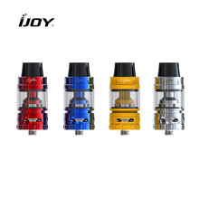 Original Ijoy Captain S Sub Ohm Tank 4ml capacity atomizer with 25mm diameter fast unscrew top refill design fit for captain mod