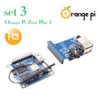 Orange Pi Zero Plus 2 H3 Set3: opi Zero Plus 2 H3 +Expansion Board , a development board beyond Raspberry Pi