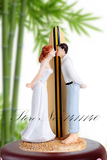 Summer Beach Wedding Theme Romantic Of Sailboat Kiss Bride And Groom Cake Topper