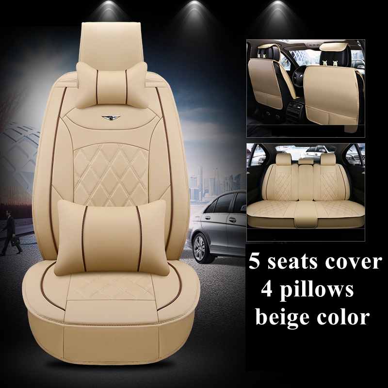 Top Quality Universal Fiat Qubo Heavy Duty Car Seat Covers Protectors 1+1