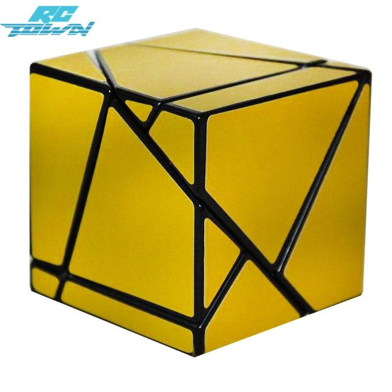 Rctown 32 мм классический магия Игрушечные лошадки Cube 2nd заказ ПВХ блок головоломки Скорость Cube Красочные Обучение & Развивающие головоломка ку...