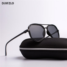 DJXFZLO Fashion Goggle Small Frame Polygon Clear Lens Sunglasses Men Brand Designer Vintage Sun Glasses Hexagon uv400