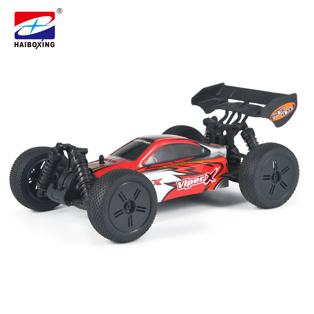 HBX 16881 RC Car 4WD 2.4Ghz 1:16 Scale 32km/h High Speed Remote Control Car Electric Powered Off-road Vehicle Model red stickers