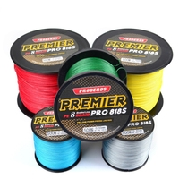 1PCS 8 Strands PE Line Super Strong Fishing Line Multicolor 500M Braided Wire Line Material Multifilament Fish line