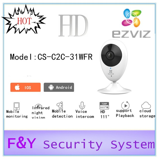 US $99 99 |100% orignal ezviz c2c Internet camera wireless control works  with App For android phone or ios phone HD Audio Video CCTV Camera-in