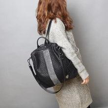 Fashion Women Backpack High Quality Youth Leather Backpacks for Teenage Girls Female School Shoulder Bag Bagpack mochila E159