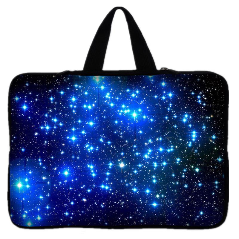 Star print notebook laptop bag tablet sleeve for 9.7 inch 10 11.6 13 13.3 14 14.4 15 15.6 17 17.3 Notebook case